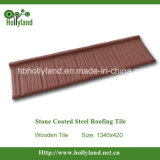 Roof Tile with Corrugated Steel (Wooden Type)