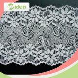 18.5cm Schiffli Hot Sale White Flower Style Textile Lace