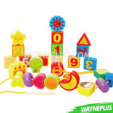 Children Educational Fruit Wooden Domino Toy