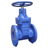 Awwa C515/509 Flanged Resilient Gate Valve, Non Rising Stem