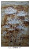 Pure Hand-Painted Simple Beautiful White Chrysanthemum Painting (LH-700551)