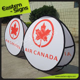 Outdoor Trade Show Fabric Pop up Display