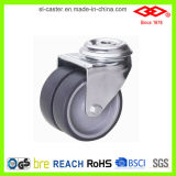 Bolt Hole Double Wheel Caster (G190-34C075X23D)