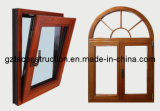 Customized Aluminum Casement Window with ISO9001 Certification