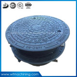 OEM Ductile/Grey Iron Sand Casting Metal Cast Iron Drain Manhole Cover for Sewer Drainage Cover