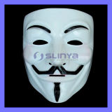 V for Vendetta Guy Fawkes Fancy Dress Party Halloween Masquerade Face Mask