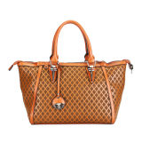 2015 New Famous Brand PU Woven Fashion Women Bag (MBNO036041)