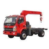 Self Loading Unloading Tractor Truck Cargo Truck Truck Mounted Crane