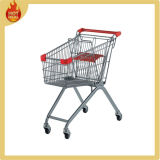 Supermarket Metal Shopping Cart for Elderly