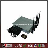 Desktop Mobile Phone Signal Jammer Blocker with Remote