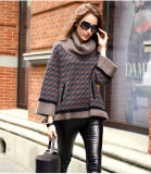 Women′s Cashmere Sweater Turtle Neck 16brdw017