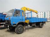 DFAC Brand 4X2 Truck Mounted Crane 7 Ton Truck Crane