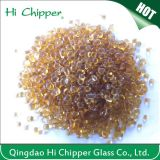 Landscaping Amber Colored Glass Beads