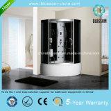 Grey Glass Sector Massage Steam Complete Shower Room (BLS-9849)