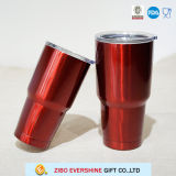 Wholesale 600ml Red Double Wall Stainless Steel Travel Bottle