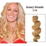 Piano Colors Clip in Remy Hair Extension Full Head