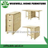 Birch Wood Extendable Dining Room Folding Table (W-T-830)