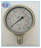 All Stainles Steel Pressure Gauge Glycerine Oil Filled