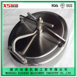 China Stainless Steel Ss304 Pressure Elliptic Type Manhole Cover
