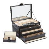 Luxury Leather Large Jewelry Box