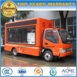 6 Wheels JAC Mobile Advertising Vehicle with Colorful LED Screen
