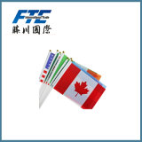 Hot Selling National Flag with Polyester Fabric