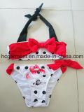 Lovely Red Printing Two Piece Swimsuit for Baby Girl, Bikini Swimwear