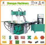 Hydraulic Interlocking Paver Brick Making Machine Have Office in Africa Sy7502