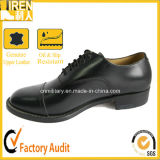 Fashion Design Black Leather Men Office Shoes