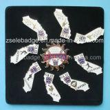 Sun-Shaped Metal Lapel Pin for Promotion