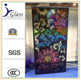 6+6mm Printed Decorative Stained Glass Church Windows Glass Factory