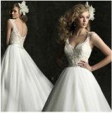 Wholesale Price A-Line Lace Bridal Wedding Dresses (CWD112)
