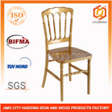 Gold Resin Napoleon Chair for Wedding Event