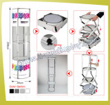 5 Tier Aluminum Display Stand Display Tower (LT-07)