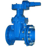 with Worm Gear Spur Gear Bevel Gear DIN3352 F4 Resilient Seated Gate Valve