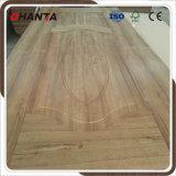 HDF Wood Veneer Molded Door Skin with Ce