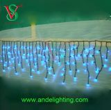Different Color LED Icicle Curtain Light for Holiday Decoration