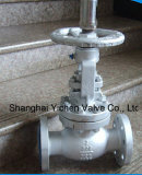 Metal Seat Cast Steel Flange End Globe Valve