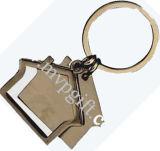 House Keychain, Metal Keychain (m-mk72)