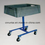 One Big Tray Four Castors Mobile Tool Cart