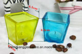Colors Plating Christmas Day Glass Cup Candle Holder