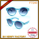F7240 Lifestyle Classic Sunglass with Blue Transparent Frame