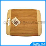 Totally Bamboo Bread Cutting Board with Oiled Surface