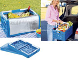 Collapsible Shopping Basket with Cooler Bag