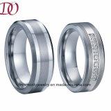 Custom Pure Titanium Wedding Band Couple Rings Handmade Finger Ring