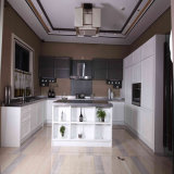 Welbom White and Gary Wooden Kitchen Cabient