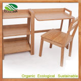 Natrual Bamboo Desk and Chair for School Furniture