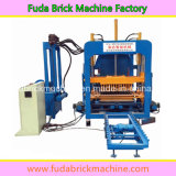 Hydraulic Press System Automatic Concrete Block Manufacturing Plant