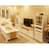 Oppein Modern White Wooden Furniture with TV Cabinet (TV11163)