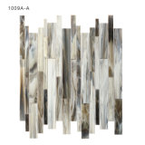 Factory Supply Linear Stained Glass Mosaic Tile for Home Decoration